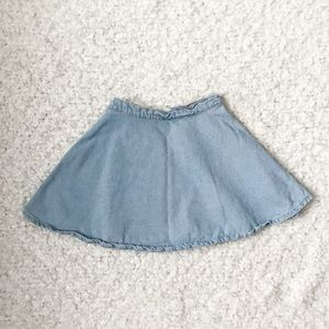 American Apparel Denim Circle Skirt Genuine